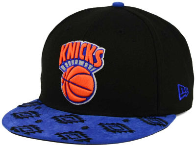 New York Knicks New Era NBA HWC Sueded Print 9FIFTY Snapback Cap