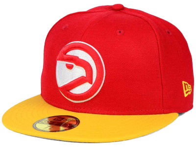 Atlanta Hawks New Era NBA HWC Anniversary Patch 59FIFTY Cap