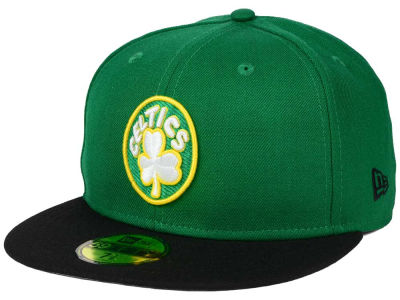 Boston Celtics New Era NBA HWC Anniversary Patch 59FIFTY Cap