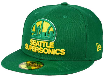 Seattle SuperSonics New Era NBA HWC Anniversary Patch 59FIFTY Cap