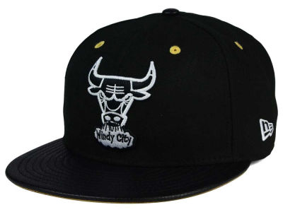 Chicago Bulls New Era NBA HWC Spring Sneaker Hook Up 9FIFTY Snapback Cap