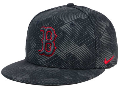 Boston Red Sox Nike MLB Anthracite Snapback Cap
