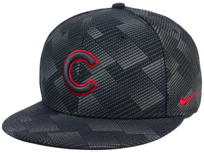 Chicago Cubs Nike MLB Anthracite Snapback Cap