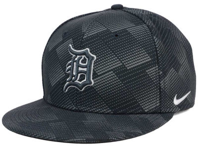 Detroit Tigers Nike MLB Anthracite Snapback Cap