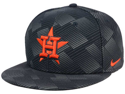 Houston Astros Nike MLB Anthracite Snapback Cap