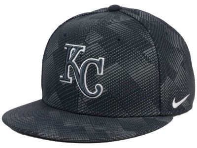Kansas City Royals Nike MLB Anthracite Snapback Cap