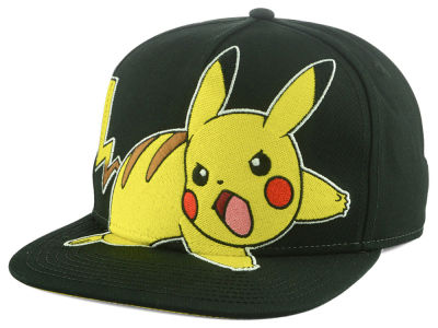 Pokemon Angry Pika Snapback Hat 2240a3160614