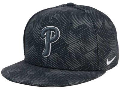 Philadelphia Phillies Nike MLB Anthracite Snapback Cap