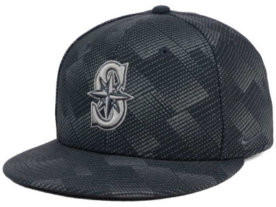 Seattle Mariners Nike MLB Anthracite Snapback Cap