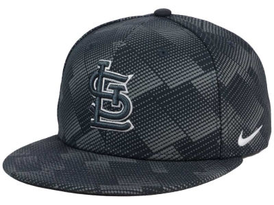 St. Louis Cardinals Nike MLB Anthracite Snapback Cap
