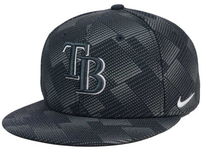 Tampa Bay Rays Nike MLB Anthracite Snapback Cap
