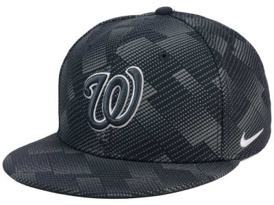 Washington Nationals Nike MLB Anthracite Snapback Cap