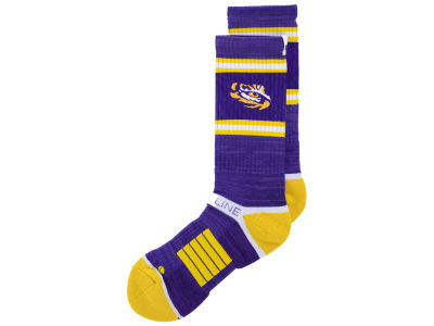 LSU Tigers Strideline NCAA Strideline Crew Socks