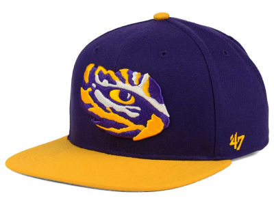 LSU Tigers '47 NCAA Sure Shot 2 Tone '47 CAPTAIN Cap