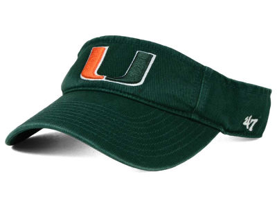 Miami Hurricanes '47 NCAA '47 CLEAN UP Visor
