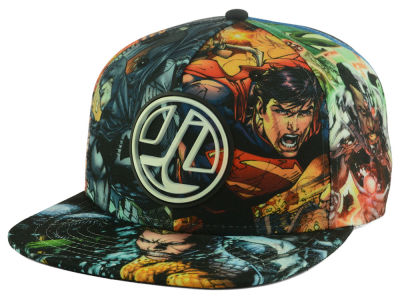 Justice League DC Comics Allover Snapback Hat