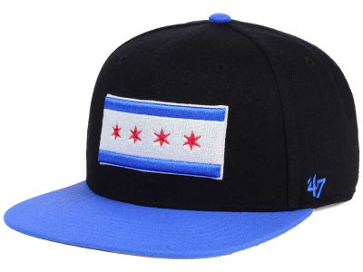 Chicago City State Sure Shot Snapback Cap