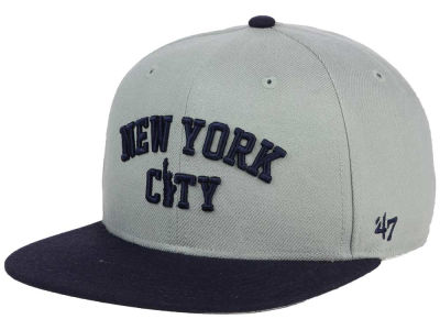 New York City State Sure Shot Snapback Cap