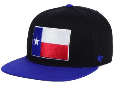 Texas City State Sure Shot Snapback Cap