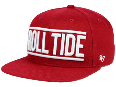 Alabama Crimson Tide '47 NCAA '47 On Track Snapback Cap