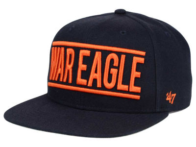 Auburn Tigers '47 NCAA '47 On Track Snapback Cap