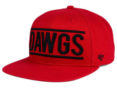 Georgia Bulldogs '47 NCAA '47 On Track Snapback Cap