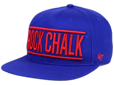 Kansas Jayhawks '47 NCAA '47 On Track Snapback Cap