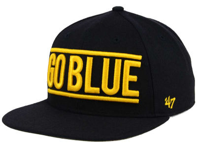 Michigan Wolverines '47 NCAA '47 On Track Snapback Cap