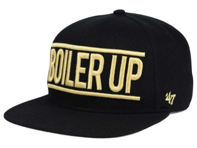Purdue Boilermakers '47 NCAA '47 On Track Snapback Cap