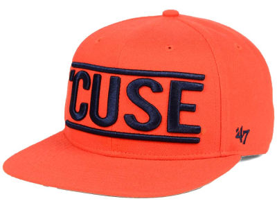 Syracuse Orange '47 NCAA '47 On Track Snapback Cap