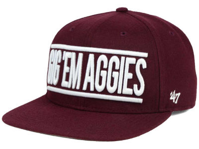 Texas A&M Aggies '47 NCAA '47 On Track Snapback Cap