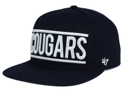 Brigham Young Cougars '47 NCAA '47 On Track Snapback Cap