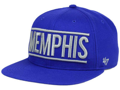 Memphis Tigers '47 NCAA '47 On Track Snapback Cap