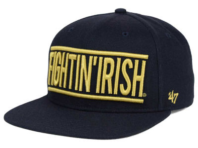 Notre Dame Fighting Irish '47 NCAA '47 On Track Snapback Cap