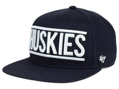 Connecticut Huskies '47 NCAA '47 On Track Snapback Cap