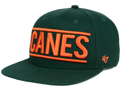Miami Hurricanes '47 NCAA '47 On Track Snapback Cap