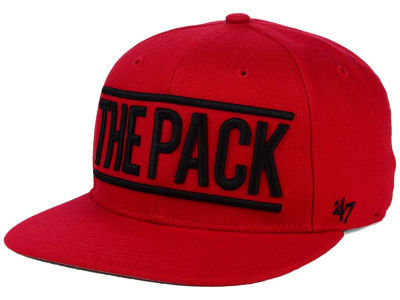 North Carolina State Wolfpack '47 NCAA '47 On Track Snapback Cap