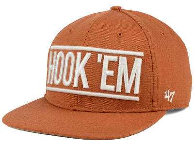 Texas Longhorns '47 NCAA '47 On Track Snapback Cap