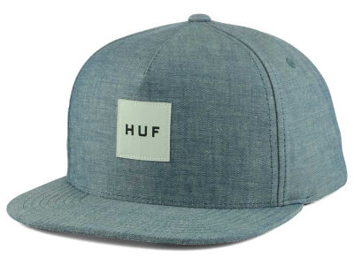 Huf Oxford Box Logo Snapback Cap