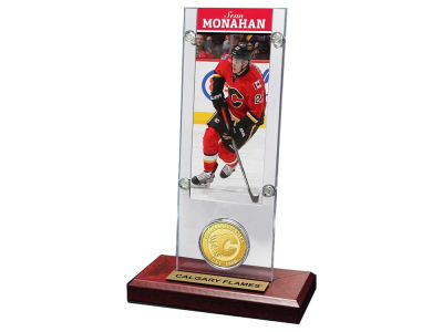 Calgary Flames Sean Monahan Highland Mint Ticket and Coin Acrylic