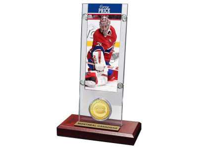Montreal Canadiens Carey Price Ticket and Coin Acrylic
