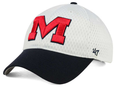 Ole Miss Rebels '47 NCAA White Breeze '47 MVP Cap