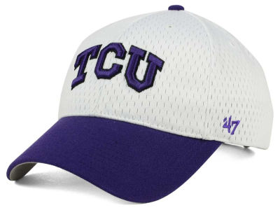 Texas Christian Horned Frogs '47 NCAA White Breeze '47 MVP Cap