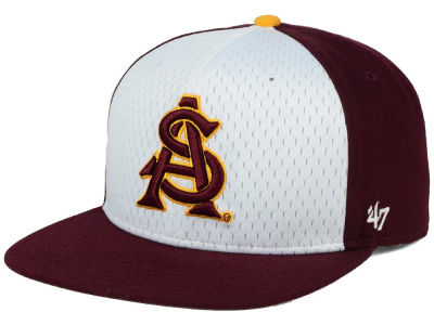 Arizona State Sun Devils '47 NCAA Backboard '47 CAPTAIN Snapback Cap