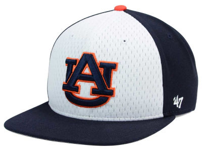 Auburn Tigers '47 NCAA Backboard '47 CAPTAIN Snapback Cap