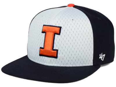 Illinois Fighting Illini '47 NCAA Backboard '47 CAPTAIN Snapback Cap