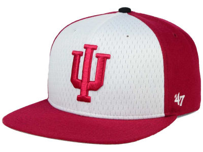 Indiana Hoosiers '47 NCAA Backboard '47 CAPTAIN Snapback Cap