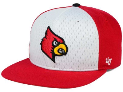 Louisville Cardinals '47 NCAA Backboard '47 CAPTAIN Snapback Cap