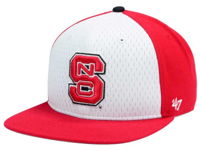 North Carolina State Wolfpack '47 NCAA Backboard '47 CAPTAIN Snapback Cap
