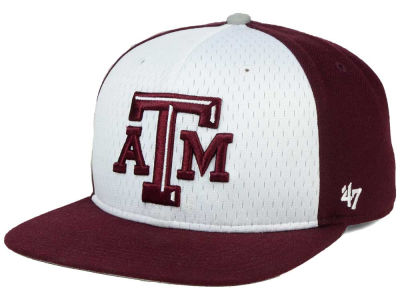Texas A&M Aggies '47 NCAA Backboard '47 CAPTAIN Snapback Cap